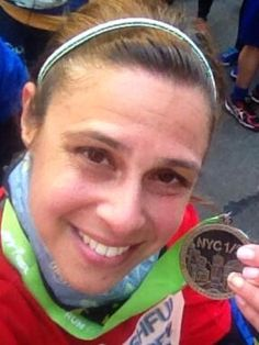 HeatherIsAok: Feeling good with a PR and a goal for April! nyrr @SPARKLYSOULINC #nychalf #NYCHalf2014 #sparklysoulnychalf