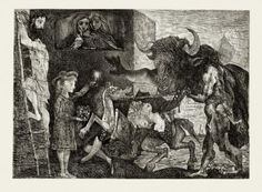 Pablo Picasso - etching