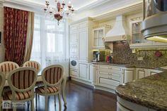 интерьер кухни столовой в частном доме - Поиск в Google