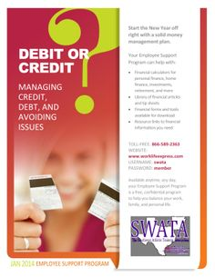 Take advantage of every SWATA membership benefit! Take a look here, and visit www.worklifeexpress.com for more info!