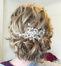 Messy+Curly+Updo+For+Medium+Hair
