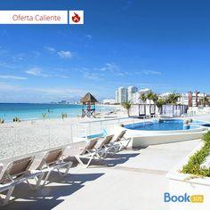 Por $399 deléitate en las playas de Cancún durante 6 días y 5 noches alojado en una habitación para 4 personas. Incluye bebidas y comidas. 2 niños menores de 12 se hospedan gratis.  Reserva ya: 1-844-839-6756