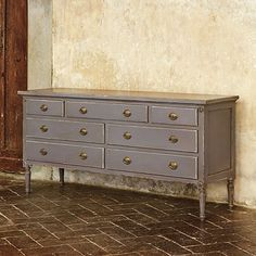 Louis XVI Double Dresser traditional dressers chests and bedroom armoires