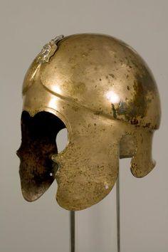 Bronze helmet of Thracian Odrysian King Sevt ІІІ ( ΣΕΥΘΟΥ ) Valley of the Thracian Kings (Golyama Kosmatka Mound) Еnd of the 4th c. BC