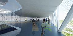Gallery - Velodrome Proposal / BNKR Arquitectura - 19