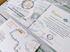 invitacion boda paris. Invitación boda personalizada. Invitación boda vintage.