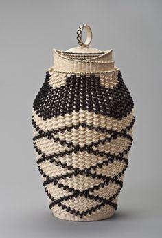 Basket by Jeremy Frey (Passamaquoddy)