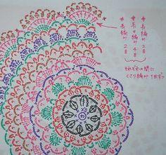 ドイリー オリジナル編み図拡大 2012.3.4
