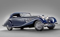 1937 Mercedes Benz 540K Cabriolet. They don't make them like this anymore