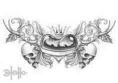 new school tattoo style flash | new school flash by ~13tatu on deviantART