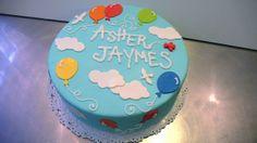 Balloon Boy Birthday Cake by CAKE Amsterdam - Cakes by ZOBOT, via Flickr
