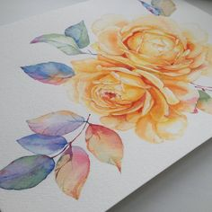 """Готово. Done. #арт #творчество #акварель #цветы #watercolour #watercolor #artwork #art #paintjob #paintflowers #paint #drawing #цветымосква #instart…"""