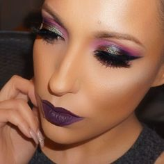 Stunning. By makeupby_ev21