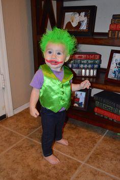Hoop Hangout - Halloween Costume - Batman Villain - cosplay kid - DIY Baby Costume -  sc 1 st  Pinterest & The Joker u0026 Bat Baby - Halloween Costume Contest at Costume-Works ...