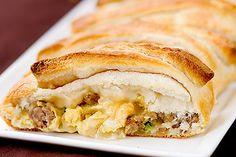 Breakfast Braid #breakfast