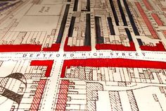 The Secret History Of Our Streets: Drawn map of Deptford High Street, London. Charles Booth's survey of London is the most ambitious social survey ever conducted. Starting in it took Booth 17 years to visit every one of its tens of thousands of streets. Bbc Two, London History, The Secret History, Old Maps, South London, London Street, Cartography, Working Class