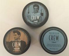 3 American Crew Items 2 FIBER + POMADE  3 oz / 85 g  each  Expires 1/2019  FRESH…