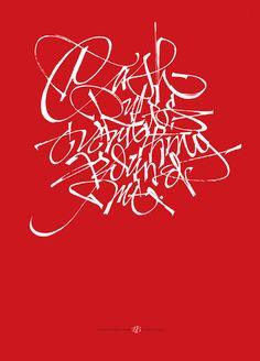 Luca Barcellona #calligraphy