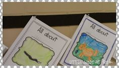 Little Minds at Work: Writing to Inform {freebie}