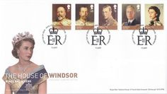 House Of Windsor First Day Cover issued in the UK on February House Of Windsor, First Day Covers, One Day, Commonwealth, The Crown, About Uk, February, Stamps, Dating