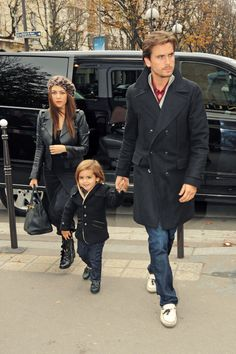 The stylish Kardashian-Disick klan