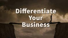 Differentiate Your Business (Line In The Sand)