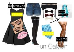 """Fun Catalan"" by the-baguette on Polyvore featuring art"