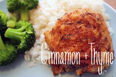 Cinnamon + Thyme