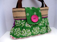 Irish Spring Handbag. $75.00, via Etsy.
