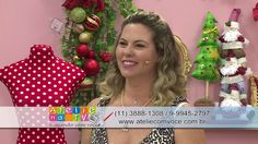 Ateliê na TV - Rede Brasil - 15.12.2016 - Mayumi Takushi e Fabia Marchetti