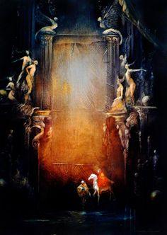 Anne Bachelier The Phantom of the Opera: White Horse (Refusee)