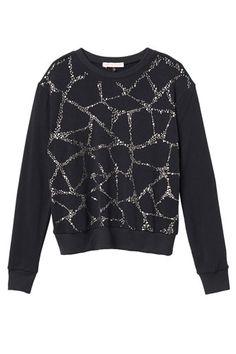 12 Comfy-Chic Jeweled Sweatshirts #refinery29  http://www.refinery29.com/embellished-sweatshirt#slide11