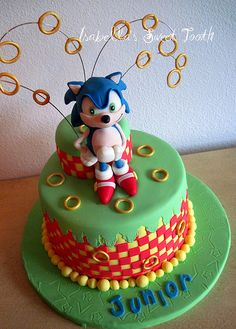 dawson's cake idea #sonic #nintendo