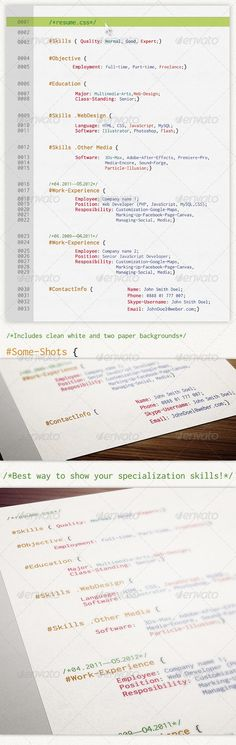 Torion Johnson (teezus318) on Pinterest - resume page layout
