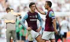 Jack Grealish and John Terry look dejected after the 2018 play-off defeat to Fulham Steve Bruce, Aston Villa Fc, Jack Grealish, Hot Stories, Nick Miller, Fulham, Soccer, Football, Club