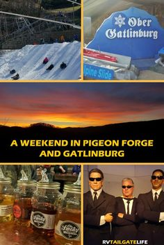 Pigeon Forge and Gatlinburg Tennessee are definitely open for business! Don't let the 2016 fires scare you away!