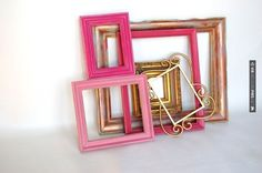 Awesome - Frame Collection by Lollipop Figurine | CHECK OUT MORE GREAT PINK WEDDING IDEAS AT WEDDINGPINS.NET | #weddings #wedding #pink #pinkwedding #thecolorpink #events #forweddings #ilovepink #purple #fire #bright #hot #love #romance #valentines #pinky