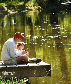 "Father daughter photoshoot idea ""fishing with daddy"""