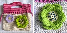 This stylish crocheted little floral purse is the perfect fashion accessory for a girls' day out. Any girl will surely be happy to receive this lovely ...