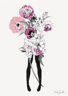 Illustration Ltd is proud to exclusively represent Kelly Smith, a professional Illustrator based in Germany. Kelly Smith specializes in fashion, beauty, pencil and graphic design illustrations. Illustration Girl, Illustration Artists, Illustrations, Graphic Design Illustration, Kelly Smith, Face Sketch, Fashion Art, Trendy Fashion, Fashion Beauty