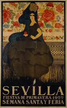 Are you interested in our Vintage print? With our Vintage Sevilla print you need look no further. Spanish Posters, Art Deco Posters, Illustrations And Posters, Vintage Illustrations, Illustration Art, Vintage Travel Posters, Vintage Advertisements, Vintage Ads, Vintage Style