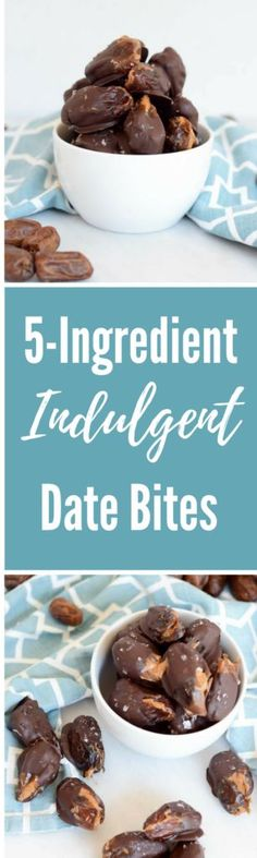 Indulgent Date Bites Healthy Dishes, Healthy Dessert Recipes, Candy Recipes, Healthy Treats, Great Recipes, Whole Food Recipes, Snack Recipes, Desserts, Healthy Food