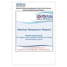 The ''Global and Chinese Phenylbutazone Industry, 2011-2021 Market Research Report'' is a professional and in-depth study on the current state of the global Phenylbutazone industry with a focus on the Chinese market.   Browse the full report @ http://www.orbisresearch.com/reports/index/global-and-chinese-phenylbutazone-cas-50-33-9-industry-2011-2021-market-research-report .  Request a sample for this report @ http://www.orbisresearch.com/contacts/request-sample/108707 .
