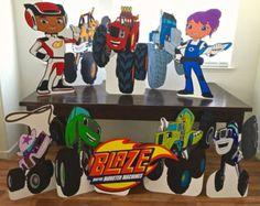 Blaze y el monstruo máquina inspirada de la por OohLaLaPartyDeco