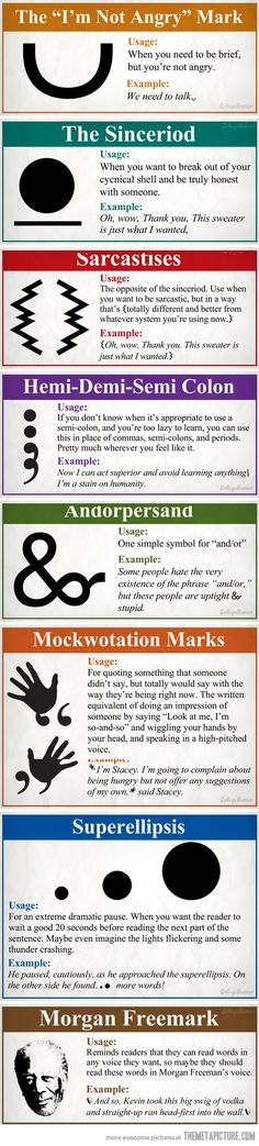 8 new and necessary punctuation marks…