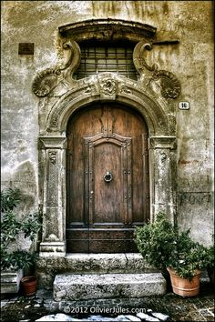 ...it's a beautiful door, and ancient; it's said that few who enter come back out...or if they do, they are so changed they are almost a different person...despite the warnings and fear, she wants to enter, wants it desperately...