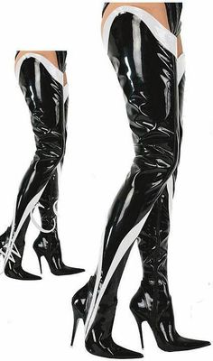 More Than 71cm Shaft Length Extreme High Heel Fetish Drag Queen 12cm 5 Hi Heel Black Patent Thigh High Boot Sex Fetish Crotch Boots Boot Ankle Boots From Skyshoes, $114.14| Dhgate.Com