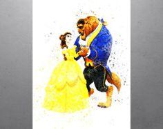 Moana & Maui Walt Disney Princess Poster Kids Art Print Kids