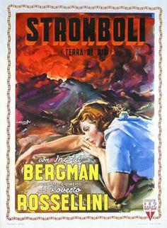 STROMBOLI - 'Stromboli' Movie Poster