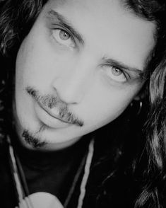 Chris those eyes Audioslave Chris Cornell, Say Hello To Heaven, Temple Of The Dog, Cornell University, Eddie Vedder, Pearl Jam, Best Face Products, Celebs, Bands